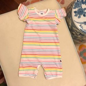 Toobydoo New York Striped Playsuit